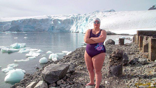 Cath Pendleton, sea swimming, orange hat ladies, merthyr mermaid, swimming women