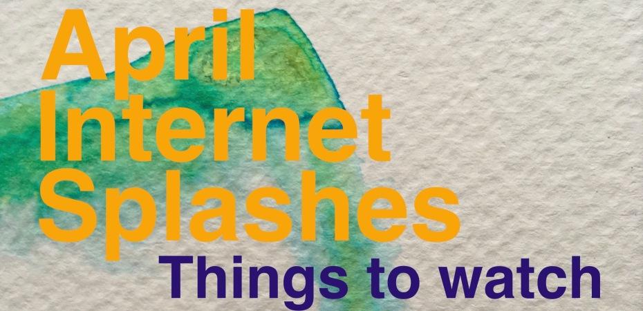 April Internet Splashes; Orange Hat Ladies; sea swimming; open water swimming; women swimming; wild swimming