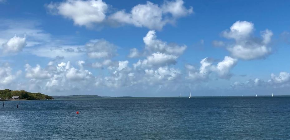 sea swimming, orange hat ladies, wild swimming, swimming women, isle of wight, outdoor swimming