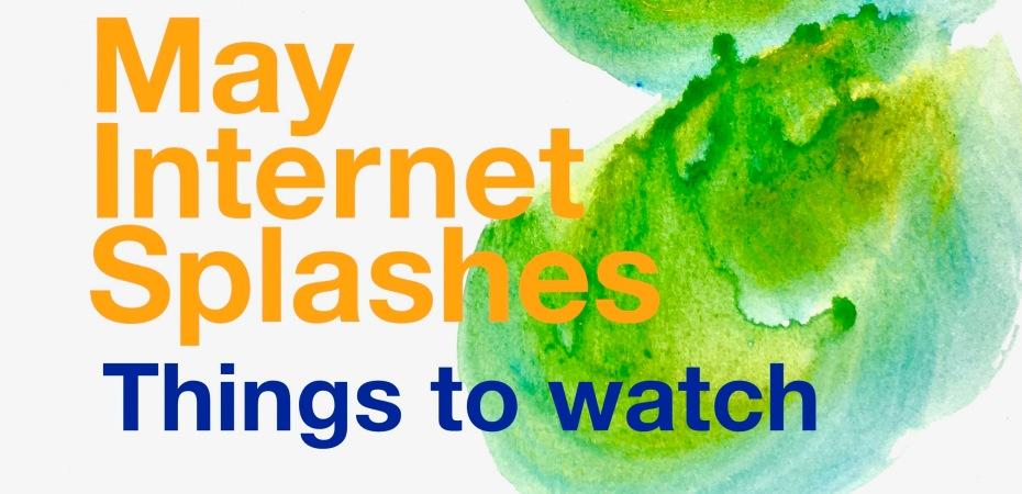 May Internet Splashes 2021, sea swimming, outdoor swimming, swim blog, swim films